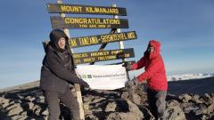 Axel Schmidt, Kilimandscharo